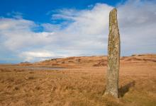 16ft Standing Stone at Ballinaby, Islay DM1286