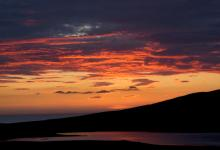 Sunset,Traigh Bhalaigh, North Uist DM0381