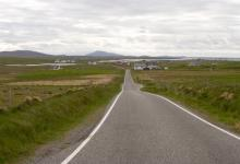 The A865, North Uist DM1372